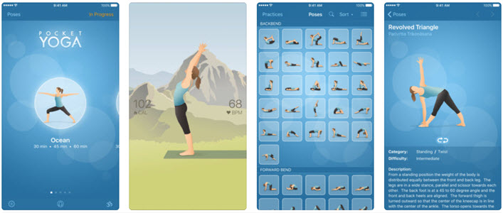 5 Minute Yoga Workouts