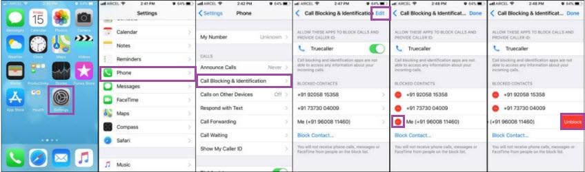 unblock contact 2