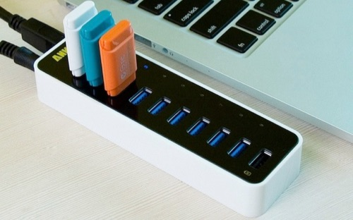 Anker 7 port and 9 port powered USB 3.0 Hubs