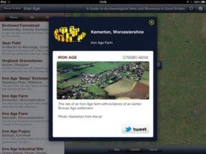 Armchair Archaeologist pound app