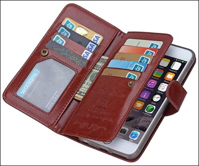BRG tech wallet case for iPhone 6