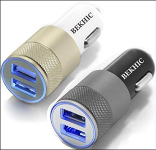 Bekhic Car Charger for iPhone 6s and 6s Plus