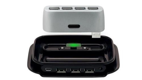 Belkin 2-in-1 USB 2.0 7-port hub