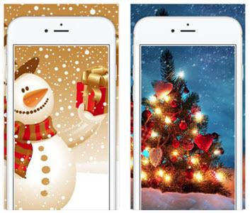 Christmas Live Wallpapers Xmas tree!