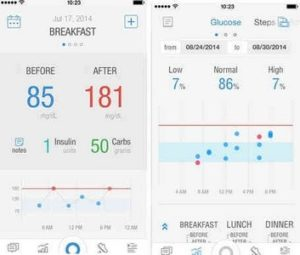 Diabetes Pacer app for iphone ipad