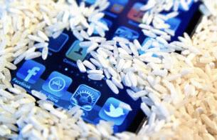 Dry iPhone rice