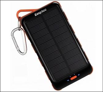 EasyAcc Solar Power Bank for iPhone