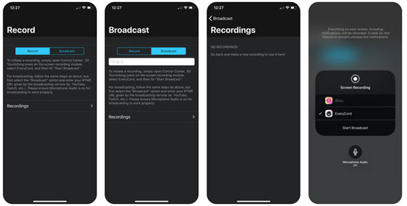 EveryCord Record & Broadcast