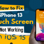 iPhone 13 Touch Screen Not Working on iOS 15