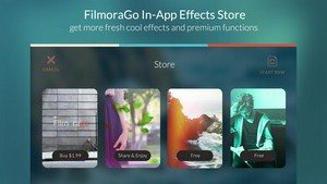 FilmoraGo for iOS app
