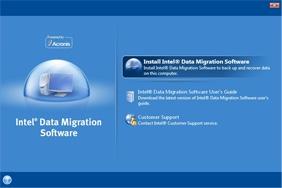 Intel data migration software main