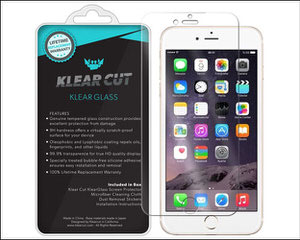 klear cut tempered glass screen protector for iPhone 7