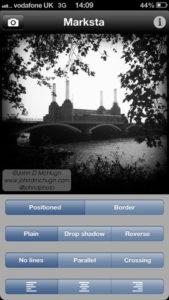 Marksta iPhone App