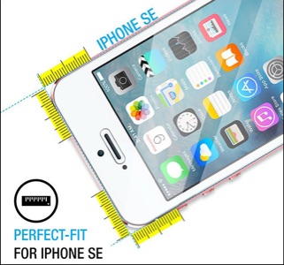 Maxboost iPhone SE Screen Protector