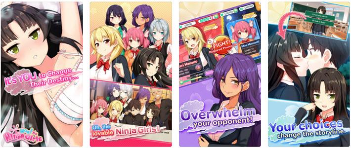 Moe! Ninja Girls Visual novel