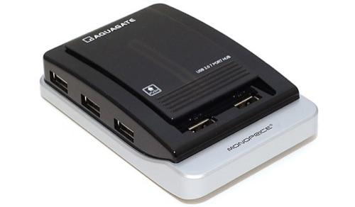 Monoprice USB hubs