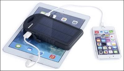Nekteck Solar Power Bank for iPhone