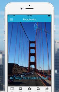 PhotoMarks iPhone App