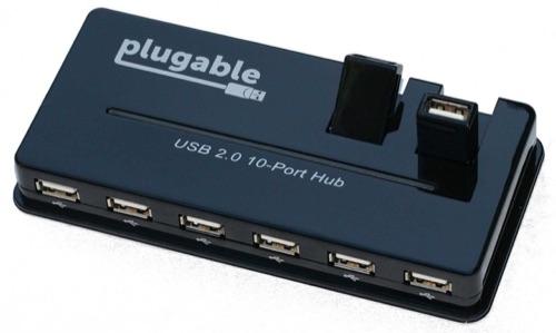 Plugable 10 port powered USB 2.0 and 7-port USB 3.0 hubs