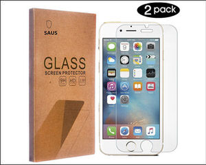 saus iPhone 7 tempered glass screen protector
