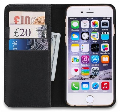 Shieldon wallet case for iPhone 6
