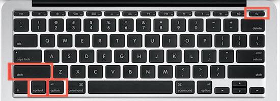 SMC reset on Mac