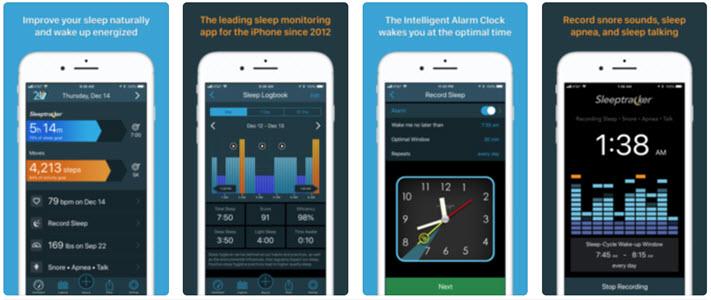 Sleeptracker 24/7 sleep tracing