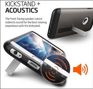 Spigen Slim Armor iPhone 6s Kickstand Case