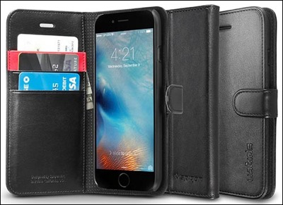 Spigen wallet case for iPhone 6 plus