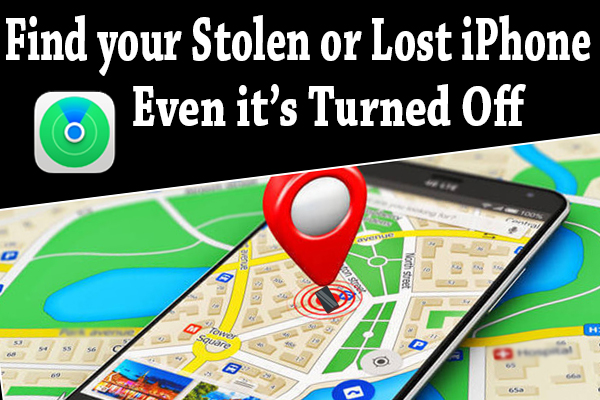 Find your Stolen or Lost iPhone Even it's Turned Off