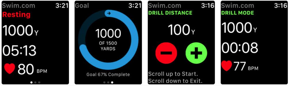 Swim.Com Smart Swim Tracking app