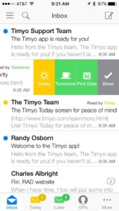 Timyo iPhone app