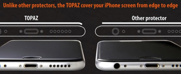 Topaz Glass Screen Protector