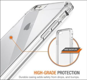 Trianium iPhone 6s Clear Case