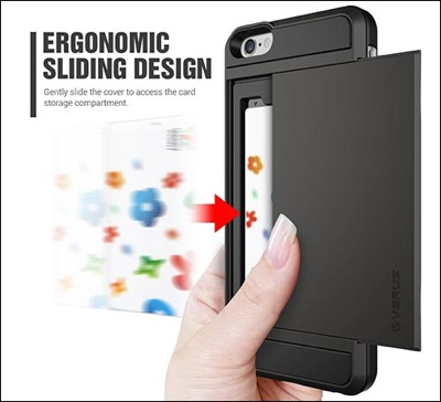 Verus card slot for iPhone 6