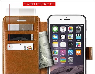 Verus wallet case for iPhone 6 plus