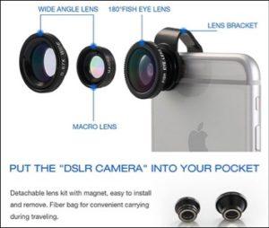 Vinsic iPhone 6 6s Plus Camera Lens