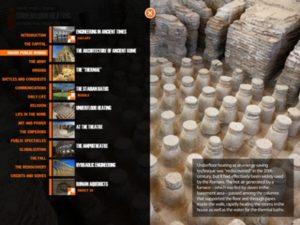 Virtual History Roma pound app