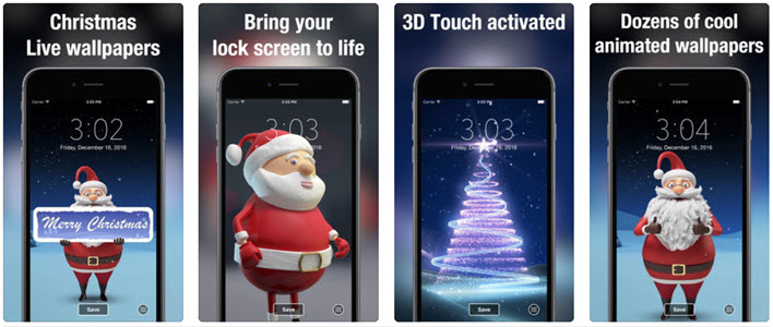 Xmas Live wallpapersDynamic backgrounds & themes