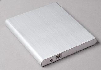 aluminum external USB dvd drive