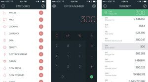amount iPhone app