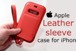 Apple Leather sleeve case for iPhone