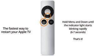 apple tv restart