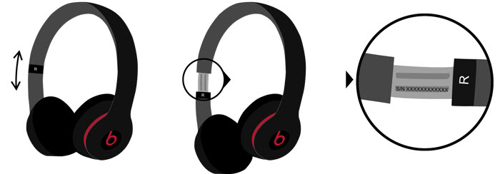 beats serial number headphones