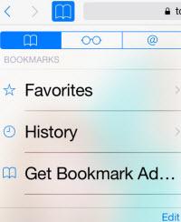 blue bookmark icon