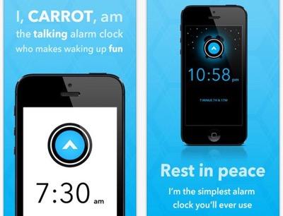 CARROT alarm clock