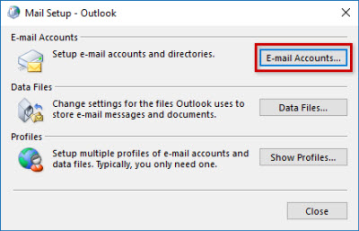 change outlook security settings