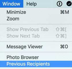 clear email cache window menu