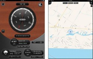 compass 54 pro app for iphone