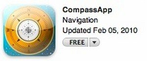 compass app for iphone